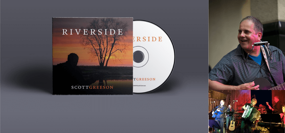 Web header graphic of Riverside | Scott Greeson album